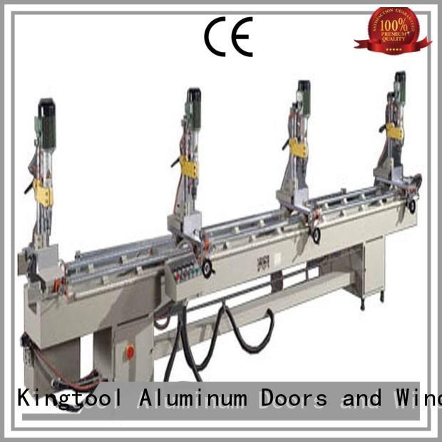 kingtool aluminium machinery inexpensive core drilling machine customization for metal plate
