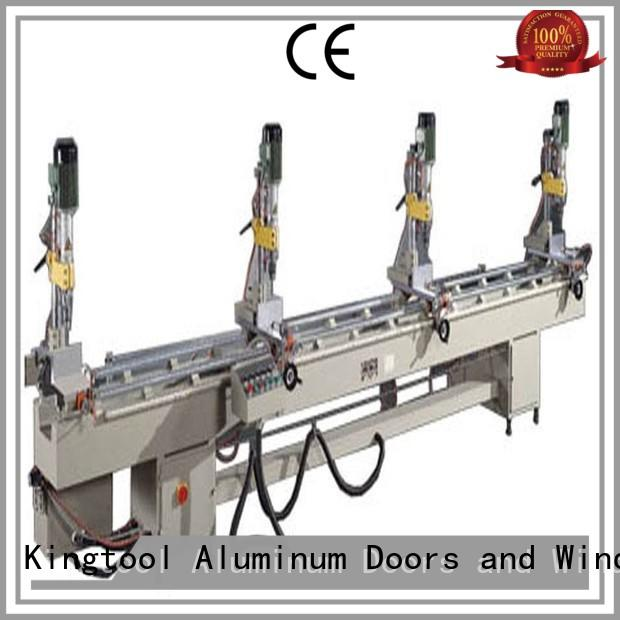 kingtool aluminium machinery inexpensive core drilling machine customization for metal plate