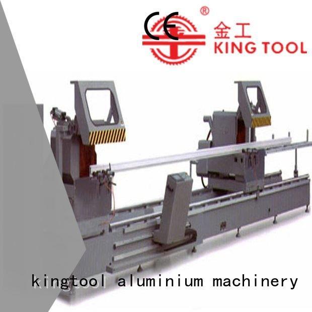 45degree manual display duty kingtool aluminium machinery aluminium cutting machine price