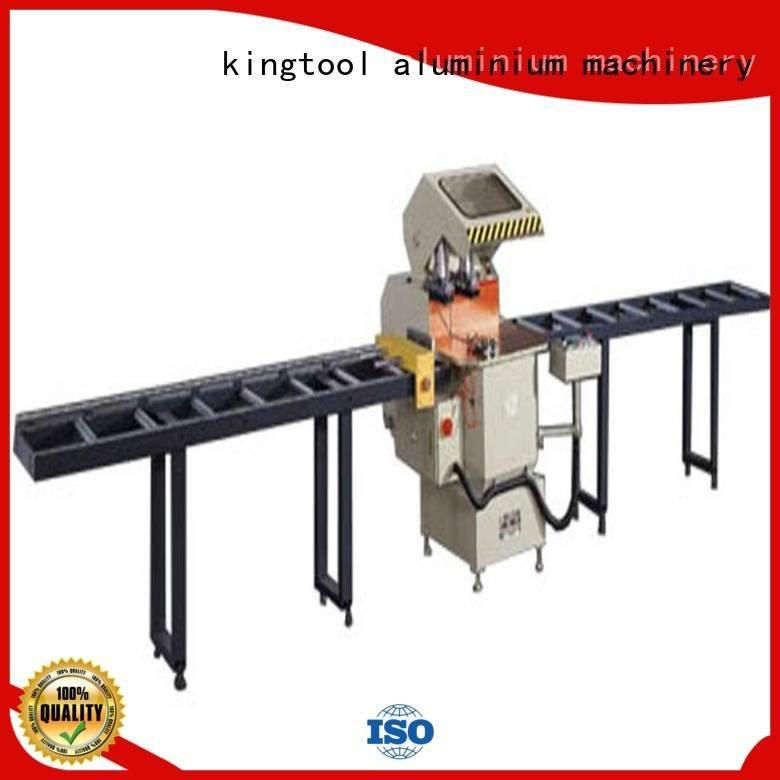 head full aluminium cutting machine price kingtool aluminium machinery