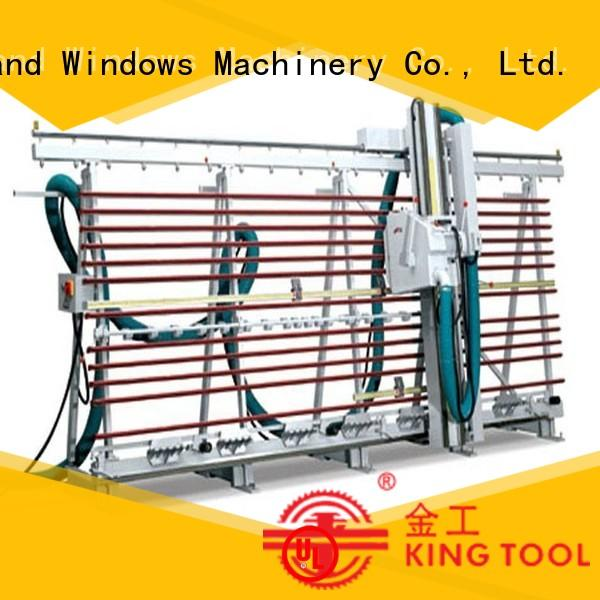 kingtool aluminium machinery composite acp cutting machine for heat-insulating materials in plant