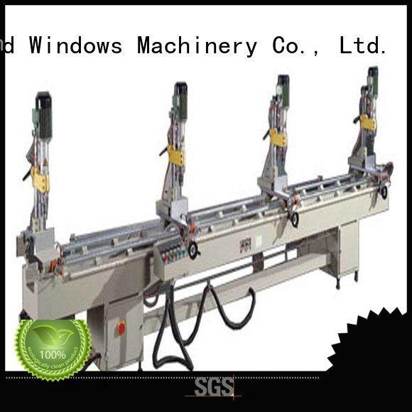 sanitary Aluminium Drilling Machine ware machine