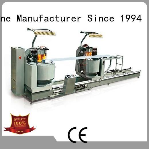 duty core cutting machine for aluminum curtain wall in workshop kingtool aluminium machinery