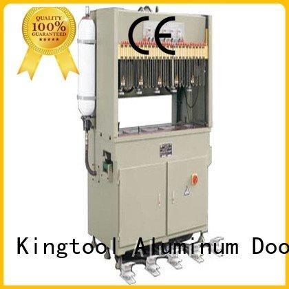 aluminium punching machine four column punching OEM aluminum punching machine kingtool aluminium machinery