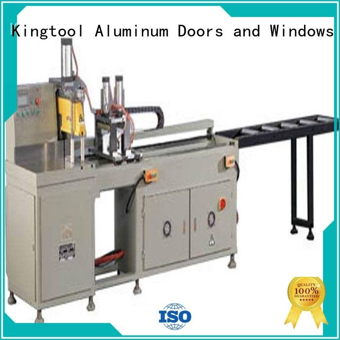 duty heavyduty auto feeding kingtool aluminium machinery Brand aluminium cutting machine supplier