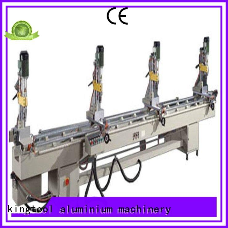 kingtool aluminium machinery drilling drilling milling machine suppliers directly sale for PVC sheets