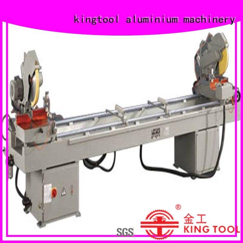 kingtool aluminium machinery best-selling aluminium profile cutting machine for plastic profile in workshop