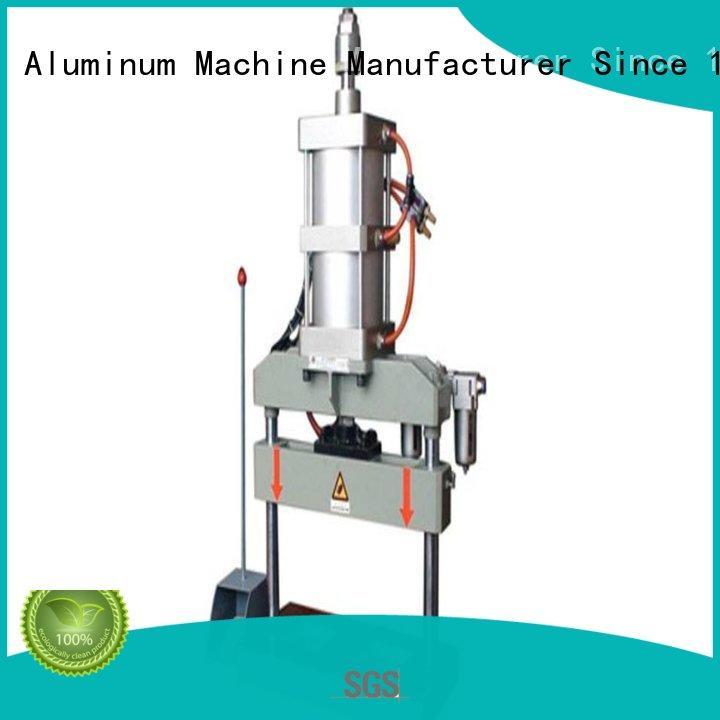 aluminum Custom four column aluminum punching machine seated kingtool aluminium machinery