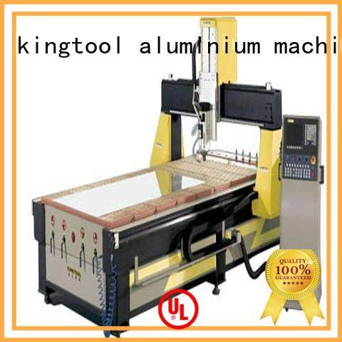 kingtool aluminium machinery machining cnc router from China for tapping