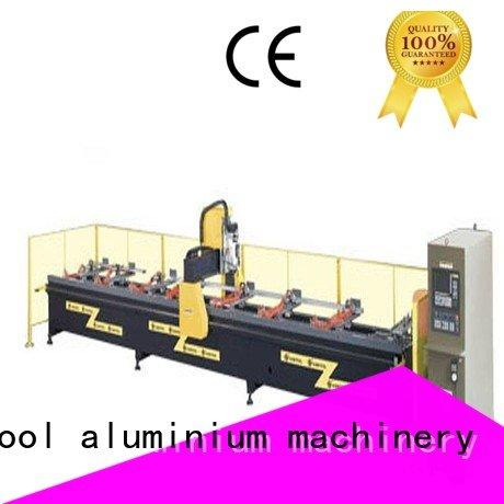 kingtool aluminium machinery Brand industrial double aluminium router machine router cutting