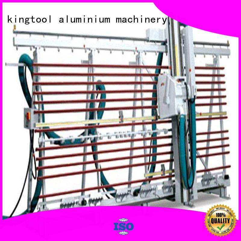 kingtool aluminium machinery ACP Processing Machine for curtain wall materials in plant