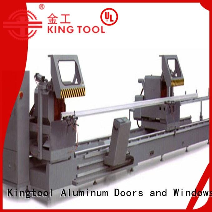adjustable aluminium cutting machine price readout for aluminum door in workshop