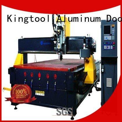 cnc center aluminium router machine machining kingtool aluminium machinery