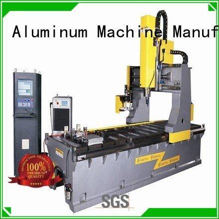 machining cnc wall single kingtool aluminium machinery curtain wall machine