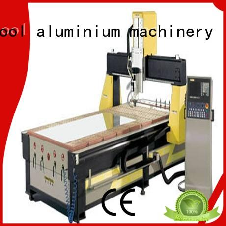 cnc router price aluminum for cutting kingtool aluminium machinery