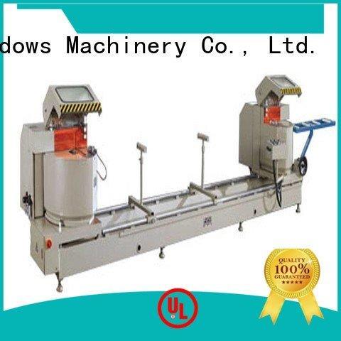 Custom aluminium cutting machine display kt383fdg kt328f kingtool aluminium machinery