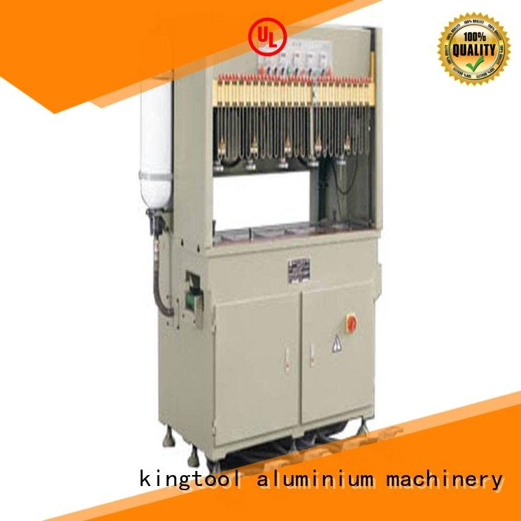 kingtool aluminium machinery aluminum aluminum punching machine factory price for PVC sheets