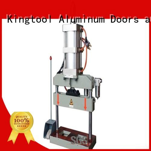 kingtool aluminium machinery affordable aluminum punch press fourcolumn for engraving