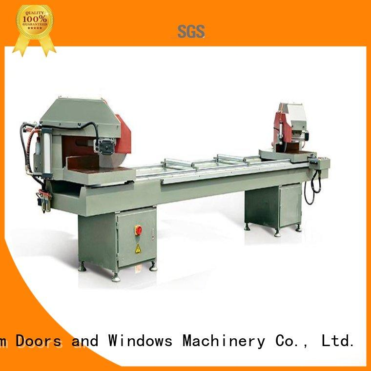kingtool aluminium machinery eco-friendly aluminum cutting machine for curtain wall materials in plant