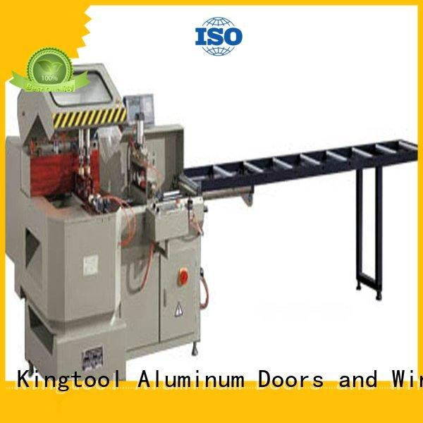 single aluminium cutting machine 3axis kingtool aluminium machinery