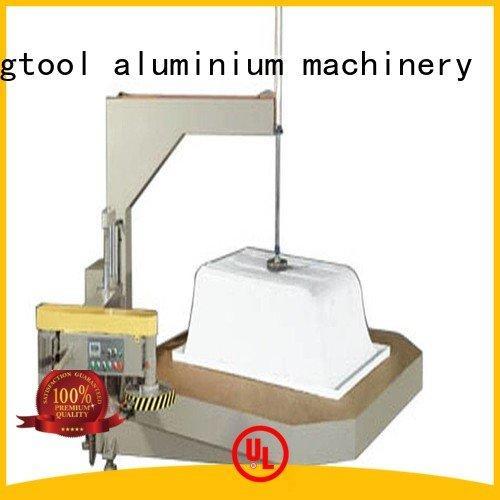 OEM sanitary profile cutting machine notching mitre threeblade Sanitary Ware Machine