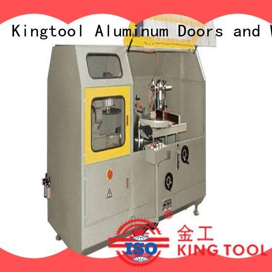 kingtool aluminium machinery curtain aluminum curtain wall machine for aluminum window in factory