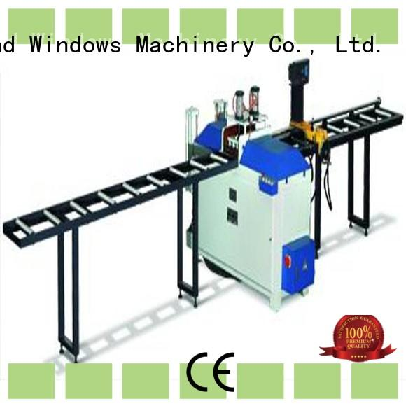 eco-friendly aluminum cutting machine for sale for curtain wall materials in workshop