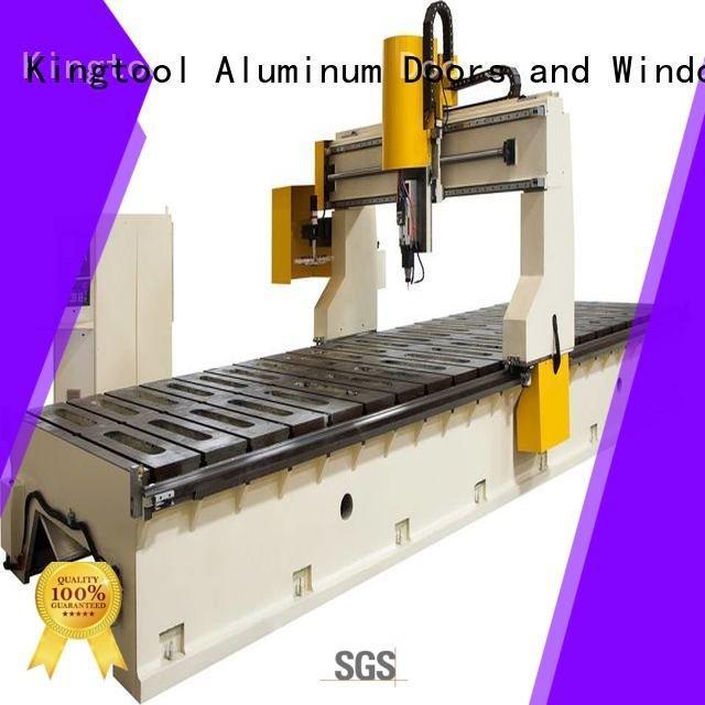 Custom aluminium router machine router cutting 5axis kingtool aluminium machinery