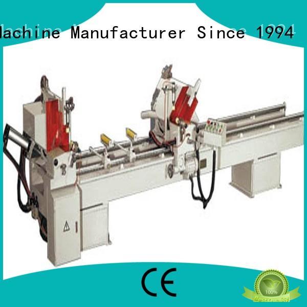 multifunction cnc machine price for curtain wall materials in workshop kingtool aluminium machinery