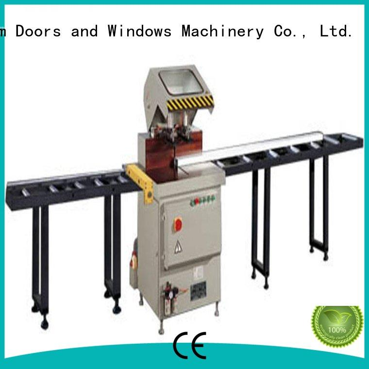 kingtool aluminium machinery durable cnc machine price for aluminum curtain wall in workshop