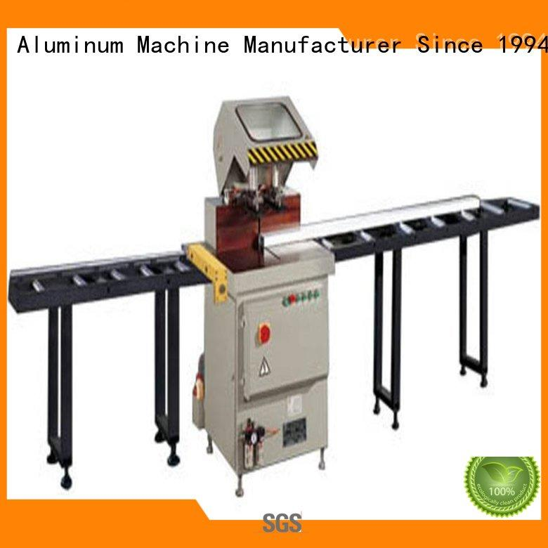 eco-friendly aluminium cutting machine saw for curtain wall materials in plant