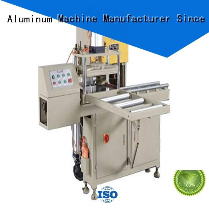 sanitary profile cutting machine notching arc machine kingtool aluminium machinery