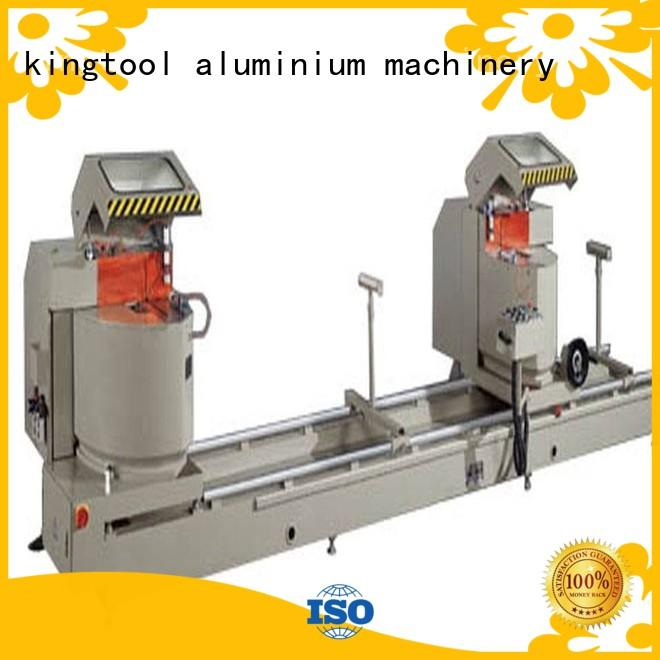 kingtool aluminium machinery eco-friendly cutting machine price for heat-insulating materials in plant