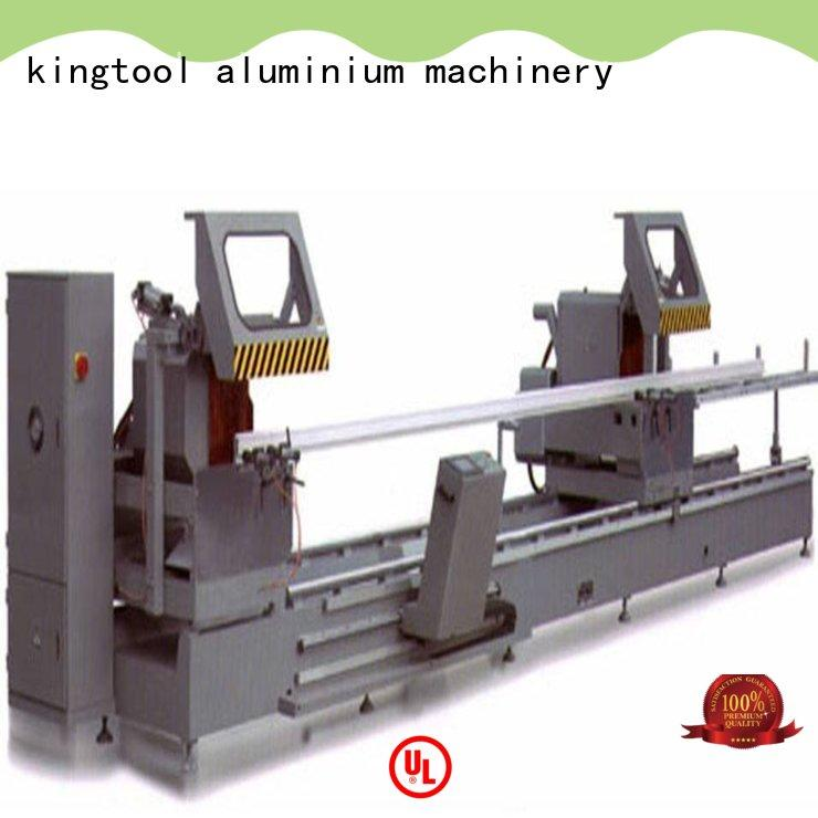 kingtool aluminium machinery first-rate electronic cutting machine for aluminum door in workshop