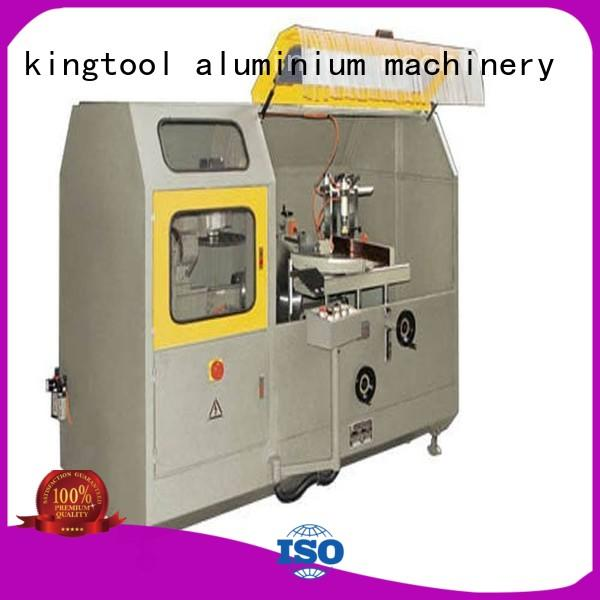 machine cutting curtain aluminum curtain wall cutting machine kingtool aluminium machinery Brand company