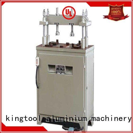 kingtool aluminium machinery machine four column seated aluminium punching machine pnumatic