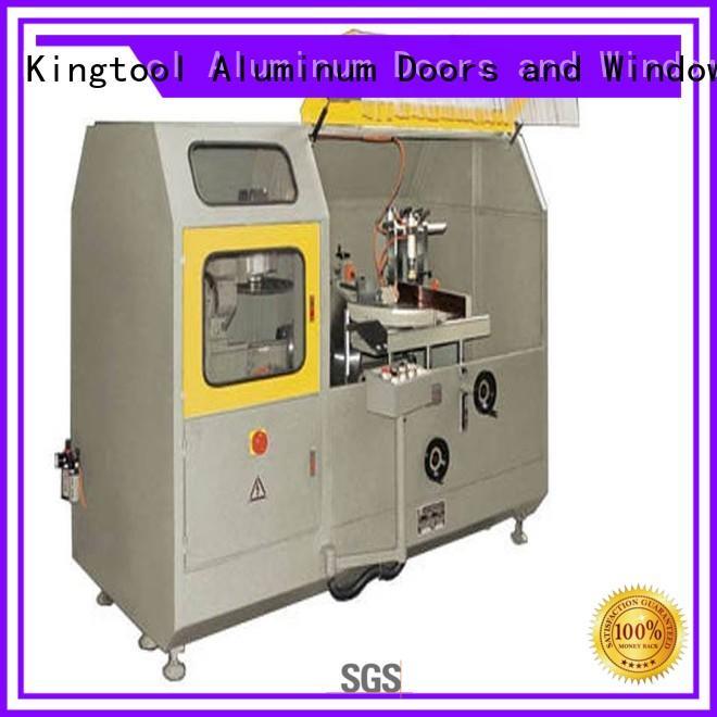 kingtool aluminium machinery stable aluminium fabrication machinery for aluminum window in workshop