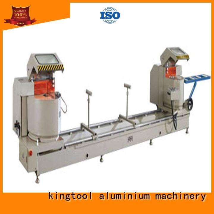 kingtool aluminium machinery Brand cnc head display aluminium cutting machine