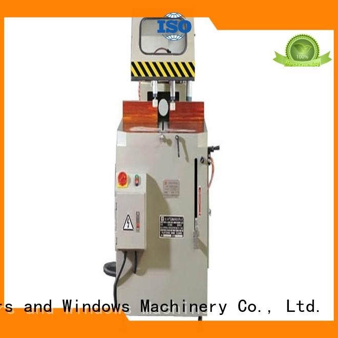 durable electronic cutting machine automatic for aluminum window in plant