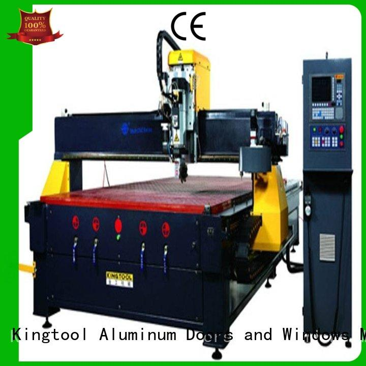 inexpensive cnc router milling aluminum customization for milling kingtool aluminium machinery