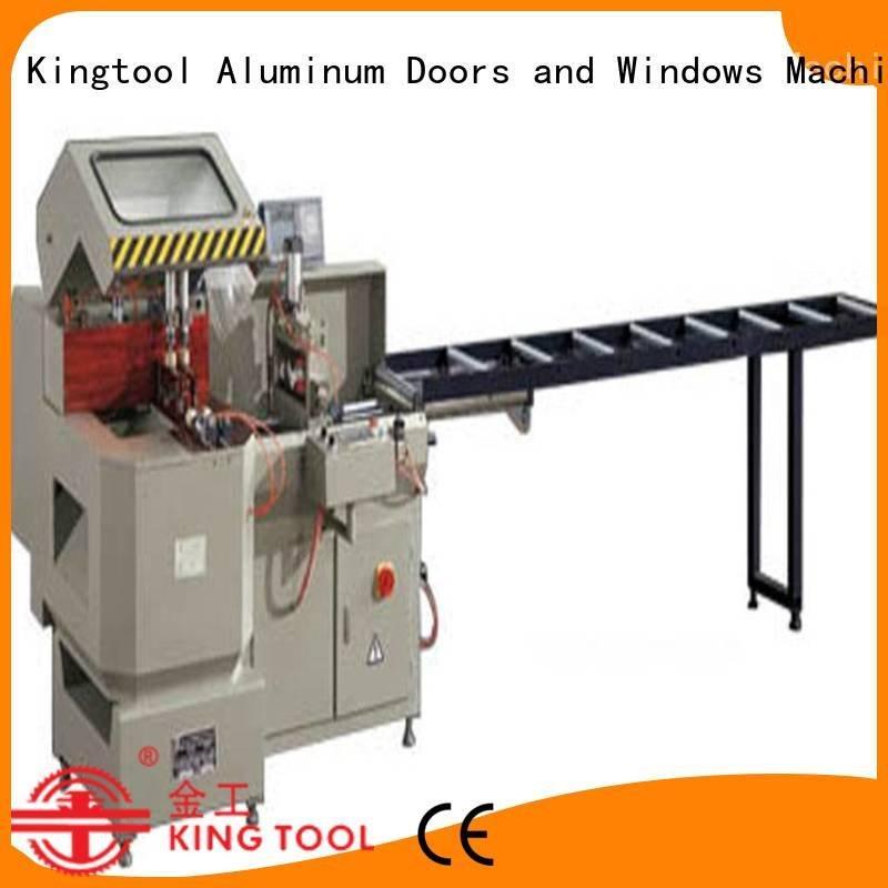 Hot aluminium cutting machine price automatic aluminium cutting machine display kingtool aluminium machinery