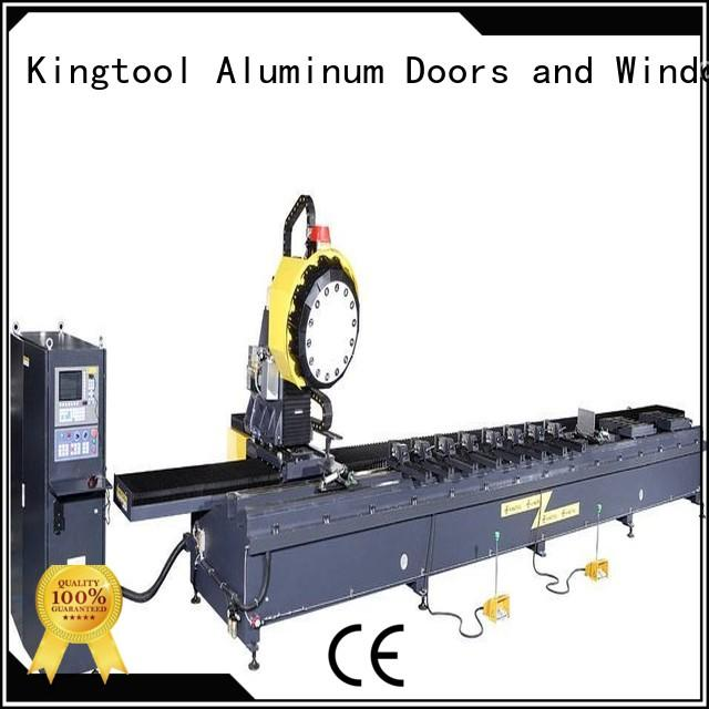 kingtool aluminium machinery steady cnc router reviews with many colors for steel plate