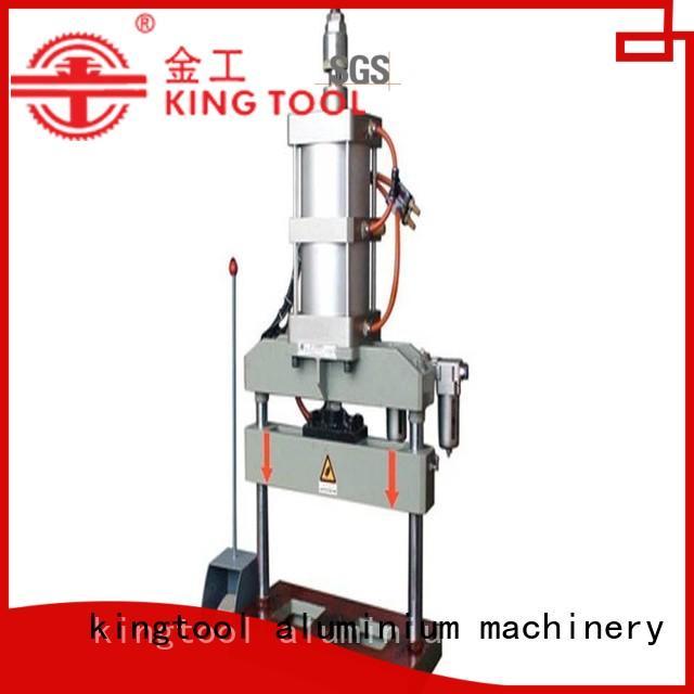 Wholesale four column aluminum punching machine kingtool aluminium machinery Brand
