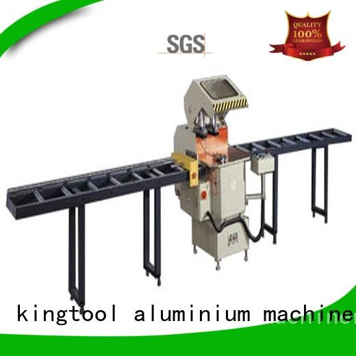 kingtool aluminium machinery inexpensive core cutting machine for curtain wall materials in plant