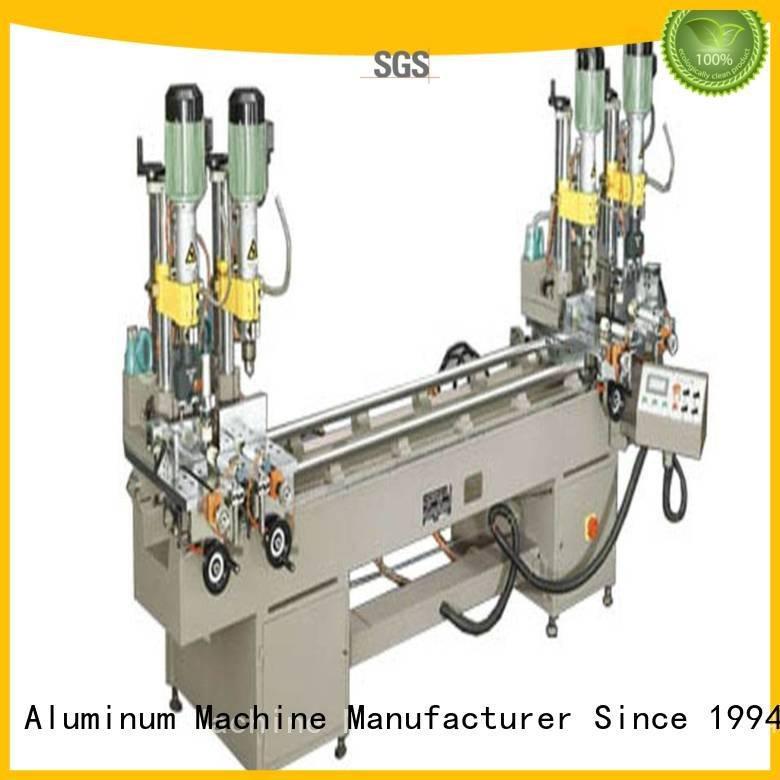 kingtool aluminium machinery sanitary aluminum pneumatic drilling and milling machine multihead