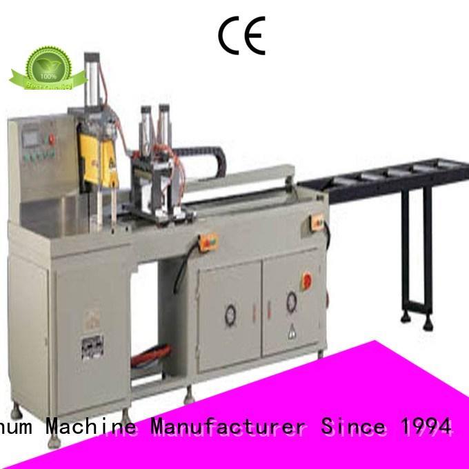 adjustable aluminium sheet cutting machine readout for aluminum door in plant