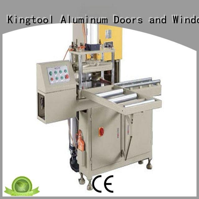 Hot sanitary profile cutting machine mitre ware threeblade kingtool aluminium machinery Brand