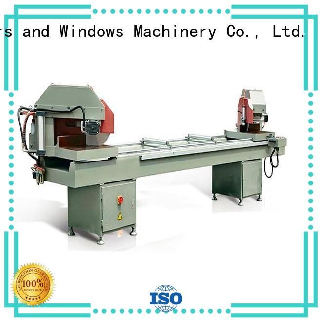 kingtool aluminium machinery adjustable automatic aluminium profile cutting machine autofeeding in factory