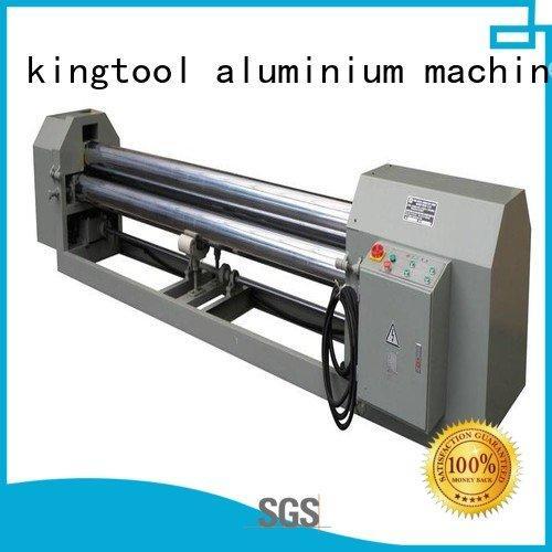 kingtool aluminium machinery Brand 3roller aluminum aluminium bending machine cnc bending