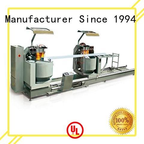 mitre auto feeding window OEM aluminium cutting machine kingtool aluminium machinery